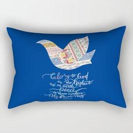 Glory to God -Luke 2:14 Rectangular Pillow