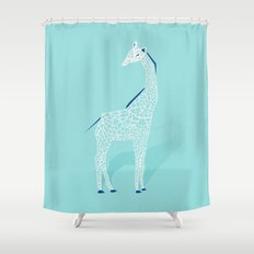 Animal Kingdom: Giraffe II Shower Curtain