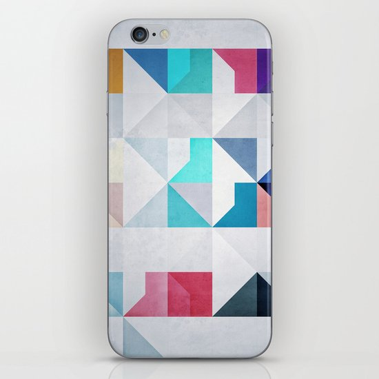 Whyyt2 iPhone & iPod Skin