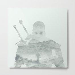 Witcher | Geralt of Rivia  Metal Print