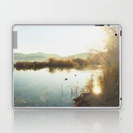 Autumn Lake Tranquility Laptop & iPad Skin