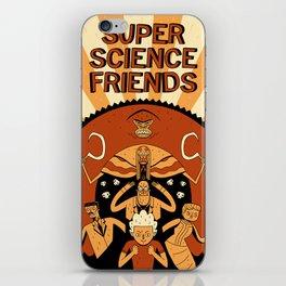 Super Science Friends Kickstarter Poster iPhone Skin