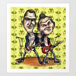 Ben Weasel & Joe Queer Art Print