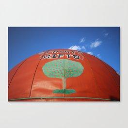 Orange World: Tree Canvas Print