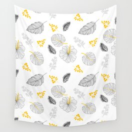 Leaves Pattern Wall Tapestry