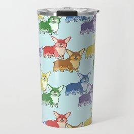 Corgi Skittles Travel Mug