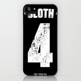 7 Deadly sins - Sloth iPhone Case