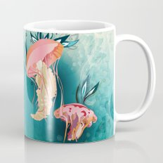Jellyfish tangling Mug