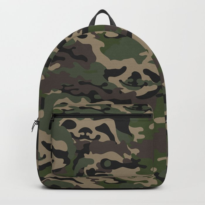 Sloth Camouflage Backpack