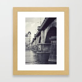 Bridge, Prague. Framed Art Print