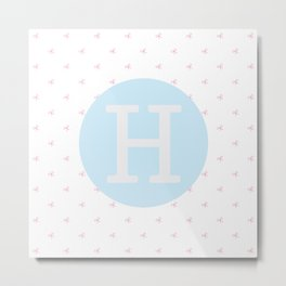 H is for Harriet Metal Print