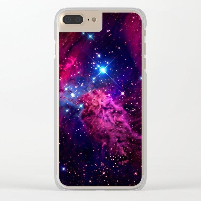 Galaxy! Clear iPhone Case