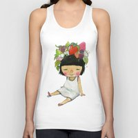 spring Tank Tops featuring Spring  by Young Ju