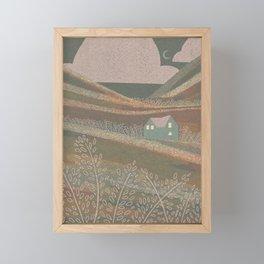 Sea Green Eve Framed Mini Art Print