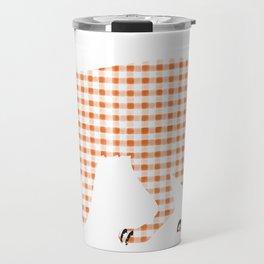 Ginghanimals - Fox  Travel Mug