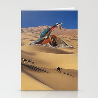 oasis Stationery Cards featuring Oasis by Lerson