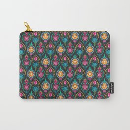 Suzani Ogee Pattern Carry-All Pouch