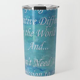 A Positive Difference Travel Mug