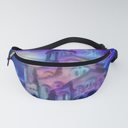 Violet Sky Cathedral of Tbilisi Fanny Pack