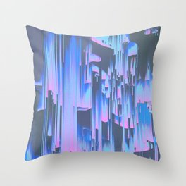 The Simulation is Breaking Throw Pillow