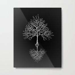Tree of life meaning black Metal Print