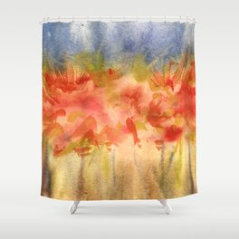 Blumenkraft II Shower Curtain