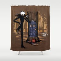 hallion Shower Curtains featuring What's This? What's This? by Karen Hallion Illustrations