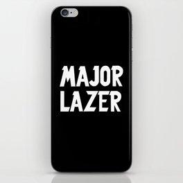 Major Lazer iPhone Skin