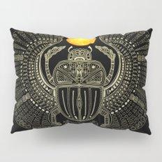 Sacred Scarab (v2) Pillow Sham