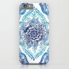Indian Ink - in Blues iPhone 6 Slim Case