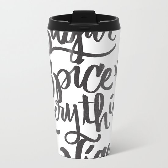 SUGAR & SPICE Metal Travel Mug