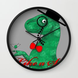 DinoSir Wall Clock