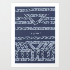 RESPECT ELM THE PERSON Art Print