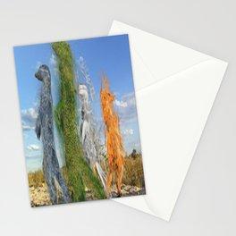 Elemental Meerkats  Stationery Cards