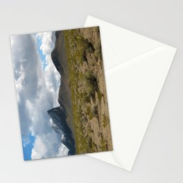 a shard in the desert Stationery Cards