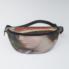 "Auguste Renoir ""Woman in a Flowered Hat"" Fanny Pack"