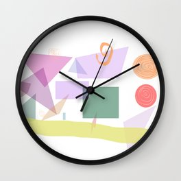 Neatly arranger aversion - print Wall Clock