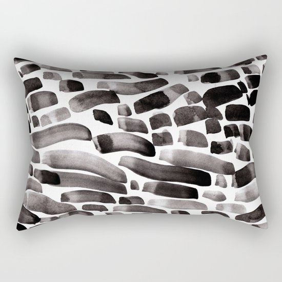 Ink Dance Rectangular Pillow