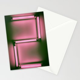 Countdown neon number, No2 Stationery Cards