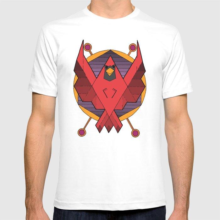 abstract cardinal T-shirt