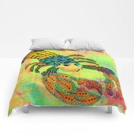 Zentangle Lobster Comforters