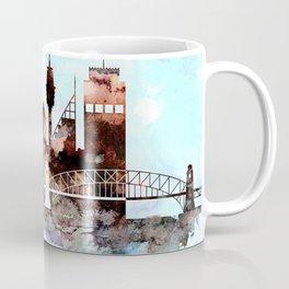 Sydney watercolor skyline design Coffee Mug