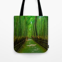 Bamboo Trail Tote Bag