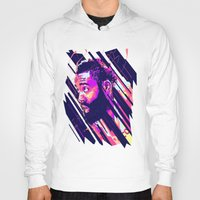 nba Hoodies featuring James harden nba illu v3 by mergedvisible