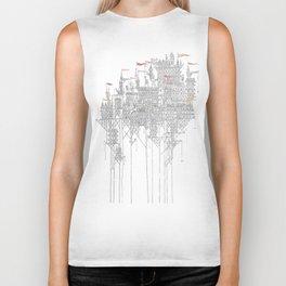 Zenobia the Invisible City Biker Tank