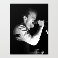 panic at the disco Canvas Prints featuring Brendon Urie//Panic! At The Disco by kathleenb314