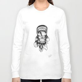Astronaut in the Woods Long Sleeve T-shirt