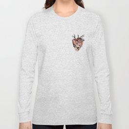 Heart shaped fist Long Sleeve T-shirt