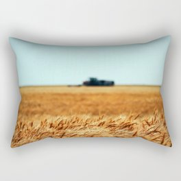 Golden Crop Rectangular Pillow