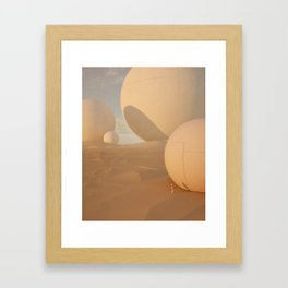 Dusty Biscuits Framed Art Print